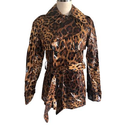 Dolce & Gabbana Giacca con stampa animalier