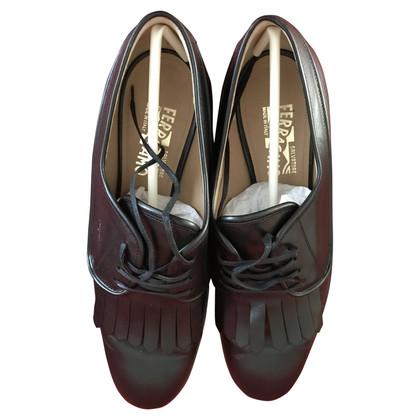 Salvatore Ferragamo Schoenen in zwart