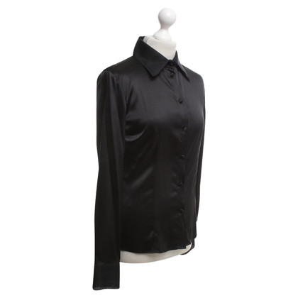 Armani blouse zwart