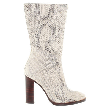 Chloé Boots Python Leather