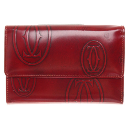 Cartier Leather purse in red
