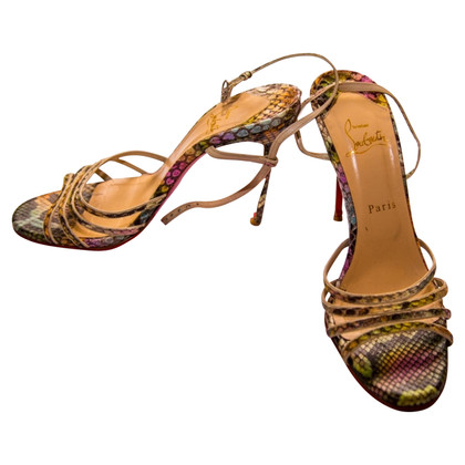 Christian Louboutin Sandals made of Python leather
