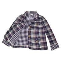 Sonia Rykiel Plaid Cotton Jacket