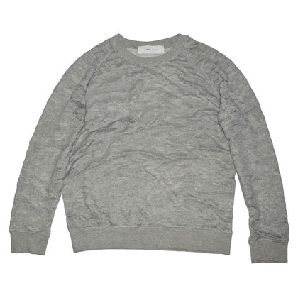Iro Maglione in cotone grigio