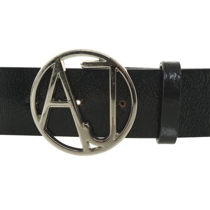 Armani riem patent leather