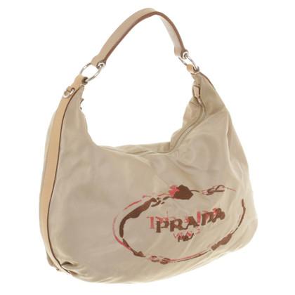 Prada Handtasche mit Stickerei