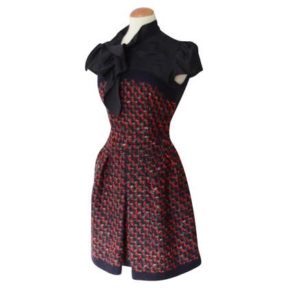 Prada Tweed dress with bow