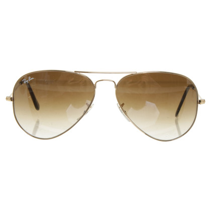 Ray Ban Sunglasses in brown and gold