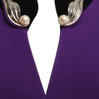 Mugler Blazer in purple
