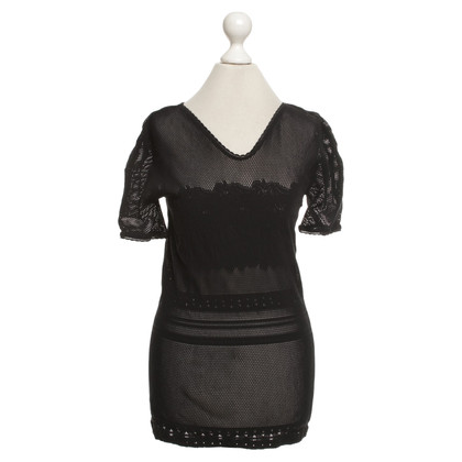 Wolford Mesh shirt in black