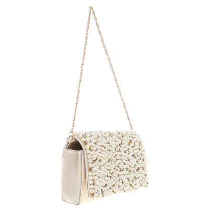 Other Designer Miss Grant - clutch in cream