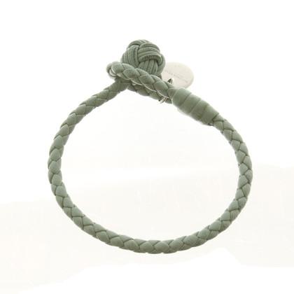 Bottega Veneta Gevlochten leren armband