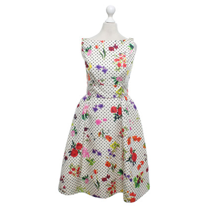 Oscar de la Renta Dress with floral pattern