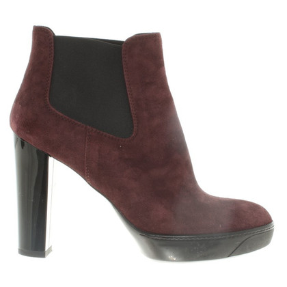 Hogan Ankle boots made of suede