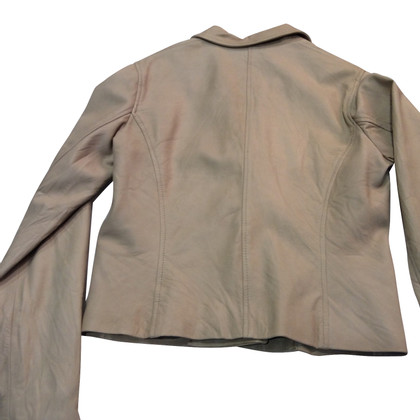 Piu & Piu Leather jacket in beige