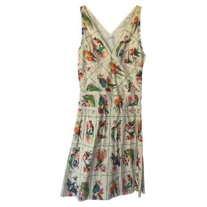 Cacharel Summer dress with bird print