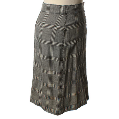 Philosophy di Alberta Ferretti skirt with Prince of Wales check patterns