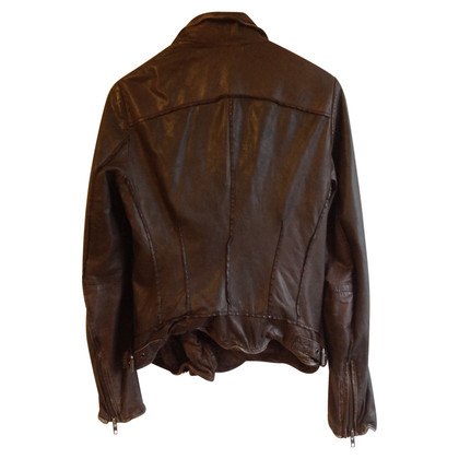 Muubaa Leather jacket in used look