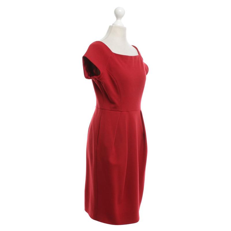 Diane von furstenberg kleid rot