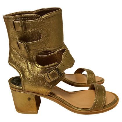 Laurence Dacade Bronze color sandal