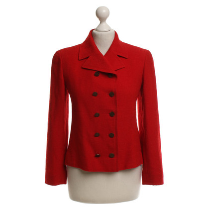 Chanel Blazer in red