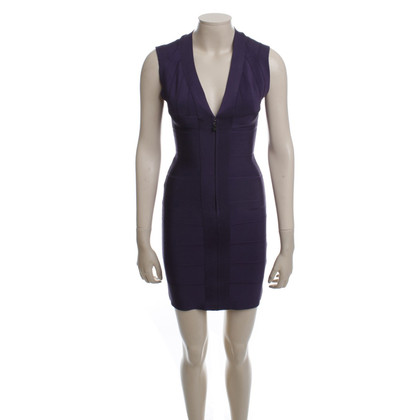 Herve Leger Short neck Bodycon dress
