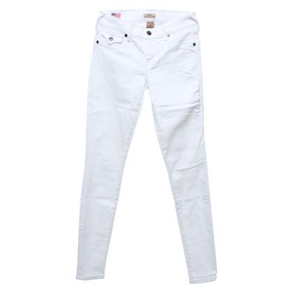 True Religion Jeans en blanc