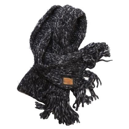 Dolce & Gabbana Knit scarf with lurex