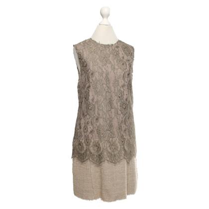 Dolce & Gabbana Tweelaags kanten jurk