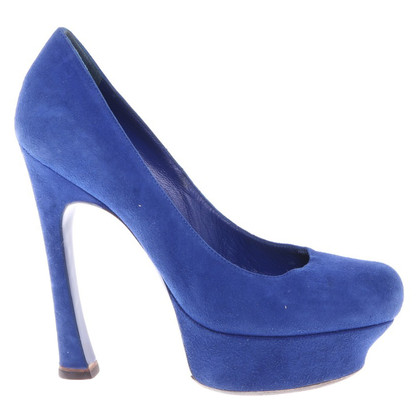 Saint Laurent pumps in blue