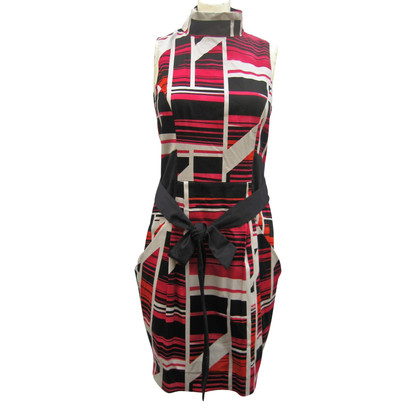 Karen Millen dress with geometric patterns