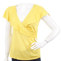 Emilio Pucci Silk top with frills