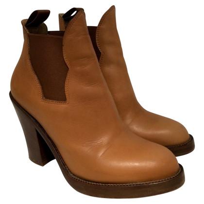 Acne Boots in Cognac