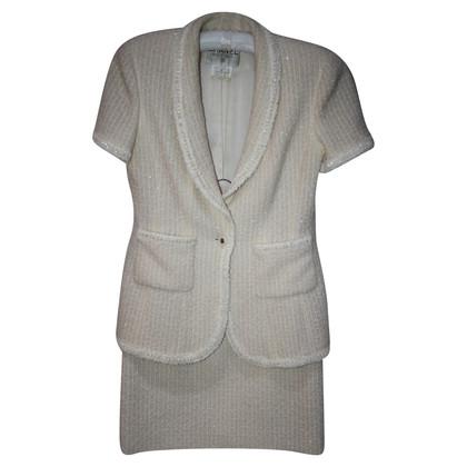 Chanel Bouclé-Anzug mit Pailletten