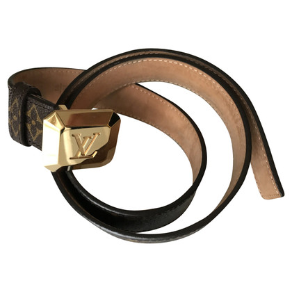 Louis Vuitton Monogram Canvas Belt