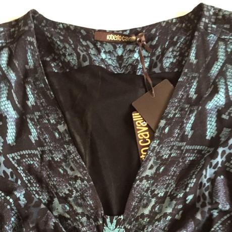 Roberto Cavalli Kleid in Blau Blau Aus Deutschland Zum Verkauf Rabatt Offizielle Seite Spielraum Billig Spielraum Zuverlässig Verkauf Beliebt QdaRT