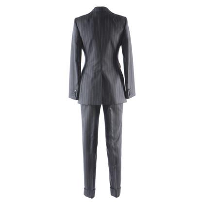 Dolce & Gabbana vestito gessato con