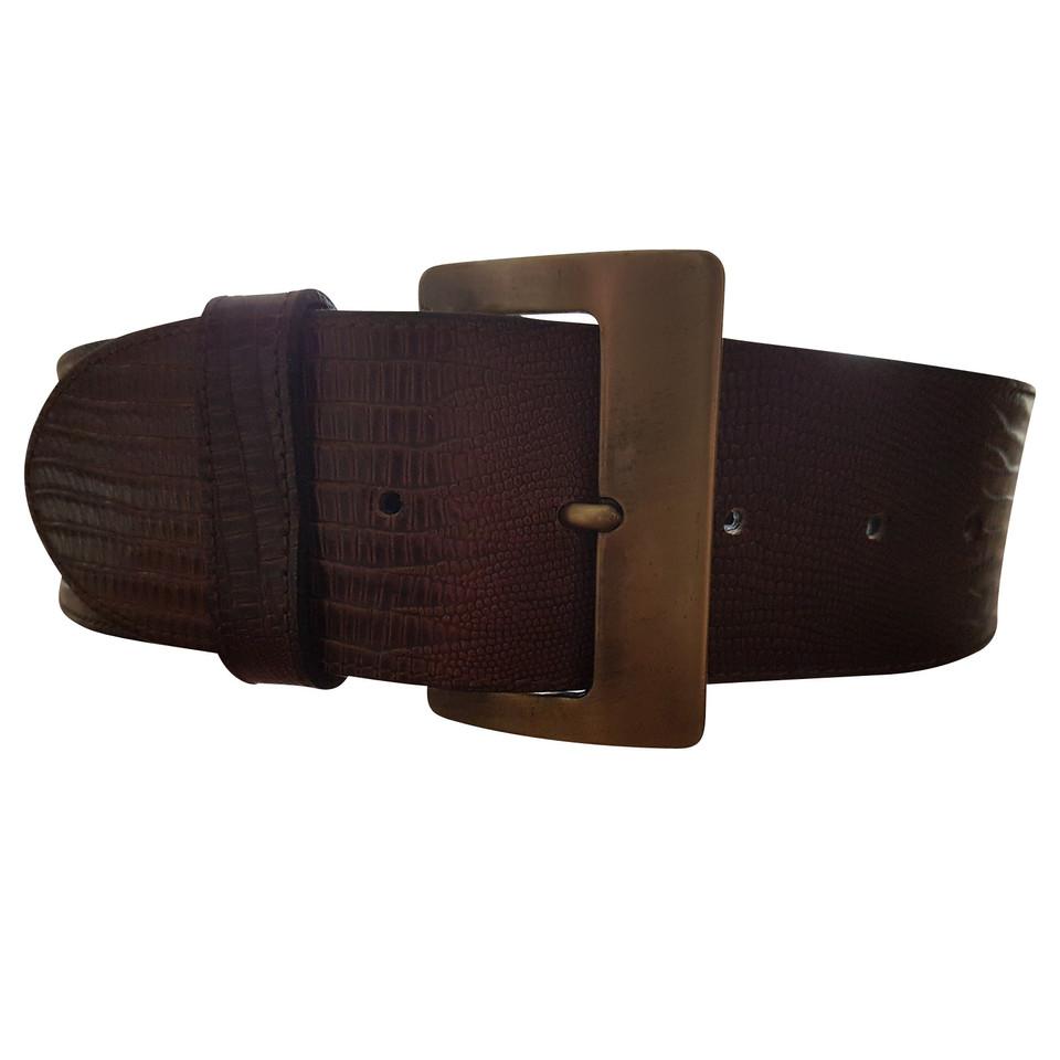 mcm leather belt buy second mcm leather belt for 89 00