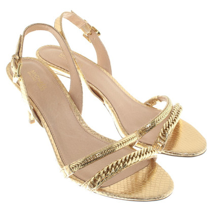 Michael Kors Gold colored sandals