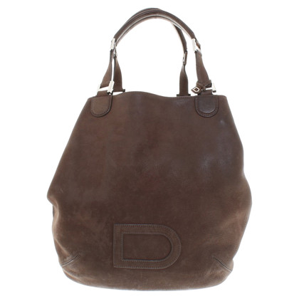 Delvaux Borsa in pelle in marrone