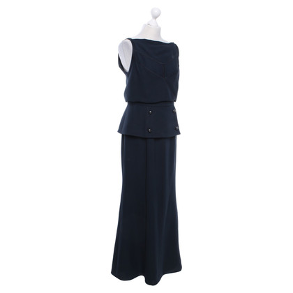 Chanel Maxi-Kleid in Dunkelblau