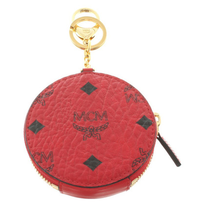 "MCM ""Visetos couleur Zip Coin Charm Ruby Red"""