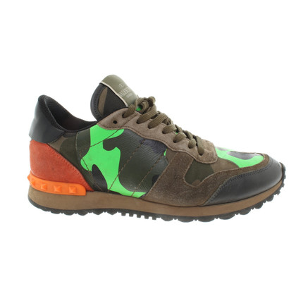 Valentino Sneaker with camouflage pattern