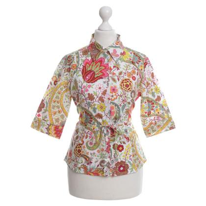 Etro Bluse mit floralem Muster
