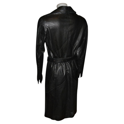 Mabrun leather coat
