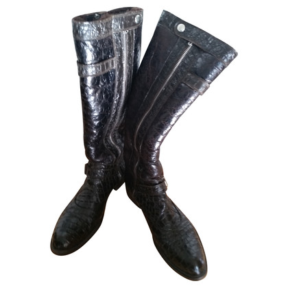 Gianni Barbato Antique leather boots