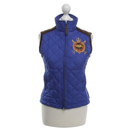 Ralph Lauren Ralph Lauren Sport - vest met kalfsleer