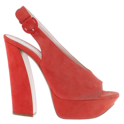 Casadei Slingbacks in Rot