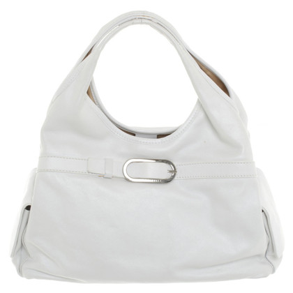 Coccinelle Handbag in Pearl White