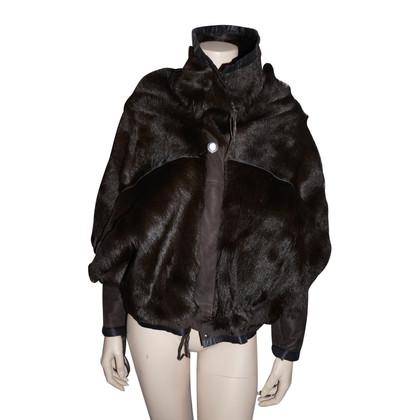 Marithé et Francois Girbaud Fur coat